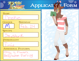 Poke Coast Application Form: Dreke by NekoMewMix