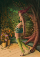 Poison Ivy by melusineistross