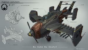 Plane concept by JonathanDufresne