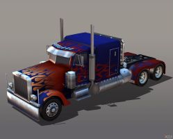 OPTIMUS PRIME TRUCK by Goreface13