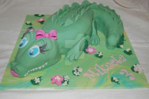 Lady Croc Cake by JanJL