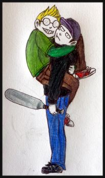 Max and Ed by Hats-Green-Ladybugs