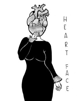 heart faceshape by gioveart