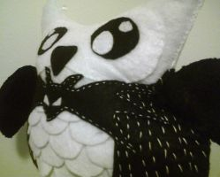 Nightmare Before xmas owl by LilPKCreations