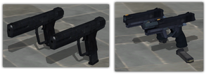 MMRS Burstfire Pistol and HALO Automag - Duo Pack by ProgammerNetwork