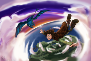 How to Train Your Dragon by Liansa
