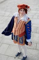 APHetalia: 1600 Italy Cosplay by GoldenMochi