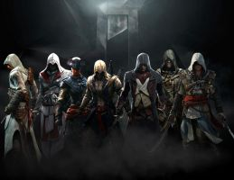 Assassin's Creed: Assassins Unite by GingerJMEZ