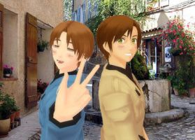 [MMD] APH: Italian Brothers by LockdownVII
