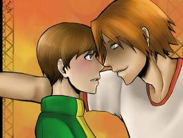 ShadowYosuke and Chie - P4 by omer-yaoi-love