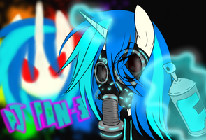 Neon Gas Mask by FullMetalPikmin
