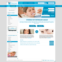 FreshDental [ Dental Hygiene template] by MsT4GFX