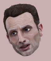 Rick Grimes / Andrew Lincoln by AJaine