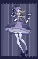 Lolita with bats by DarkDevi