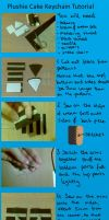Cake Keychain Tutorial by Pandannabelle