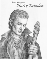 James Marsters - Harry Dresden by dooodlebugg