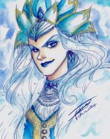 Snow Queen by oasiswinds