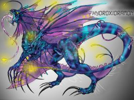 Mega Digimon Hydroxidramon by LunaBelnadez