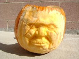 Pumpkin face carving by b1938dc