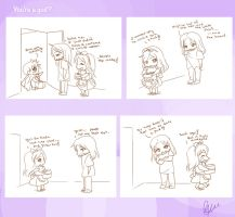 .:Short Comic 16 - You're a god?:. by Nardhwen