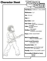 TG Character Sheet - Danielle by redcarstudios