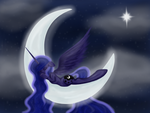 Sleepy Luna by EarthEquine