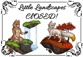 little landscapes CLOSED by KatieHofgard