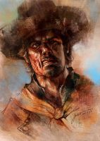 Jonah Hex (Tony DeZuniga tribute) by jbcasacop