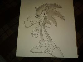 Sonic the Hedgehog by superstarmario17