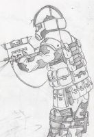 unkown soldier by halonut117