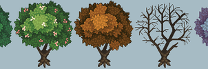 TreeSeasons by ClawsTheCat