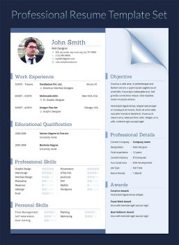 Resume in doc, docx, indd, psd, eps and ai format by khatrijiya