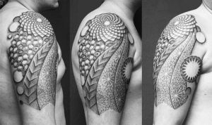 dotwork pattern by diedotworkerin