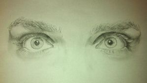 Gerard Ways eyes by LauriceY