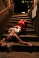 On the stairs by Starphotos by KittenNightmare