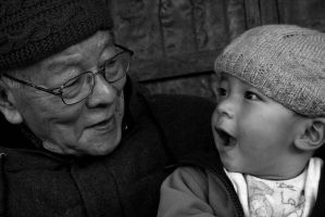 Decades apart by bingbing51