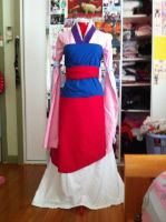 mulan dress by maymayv