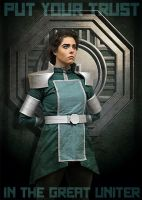 Kuvira by GinaBCosplay