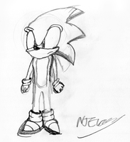SONIC by scribble. by soncomsketchbook