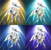 Alternate Divine Light of Arceus by Ninja-Jamal
