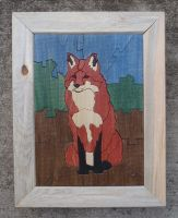 Fox Puzzle with Frame by MarshallJM