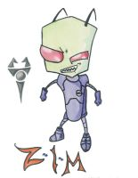 Invader Zim by Invader-Tech