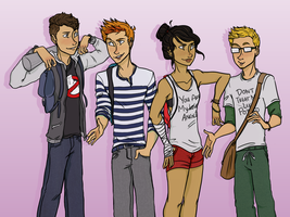 Teenage Dirtbags by CelestialTeez
