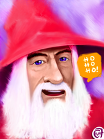 Gandalf the Red by C0y0te7