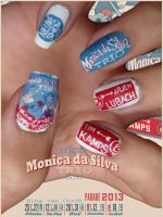 Het Monica Da Silva Trio Nails by Ninails