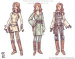 Mara Jade Jedi concepts by TimArtIllustration