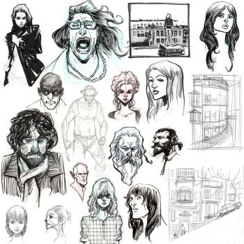 Sketchdump by TonyBrescini