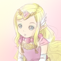 Princess Zelda by Vether