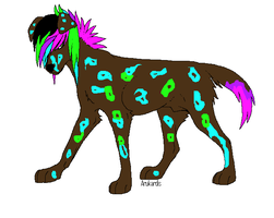 Wolf adoptable Closed by petshop101
