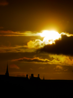 Sunset in Glasgow -2- by IoannisCleary
